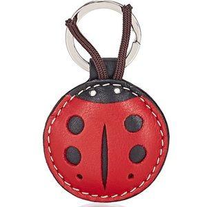 Barney's New York Ladybug Keychain
